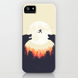Runaway iPhone Case