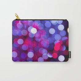 Pittsburgh Market Square Christmas Bokeh Carry-All Pouch