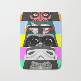 Star - Eyes of the dark side - Wars Bath Mat