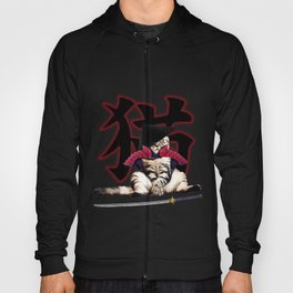 exclusive and limited samurai cat design in store Hoody