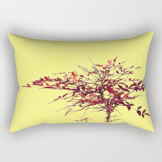 Spiral and Tree Rectangular Pillow