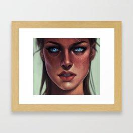 N U M B Framed Art Print