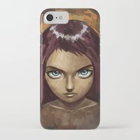raven iPhone & iPod Cases featuring Raven by Freeminds
