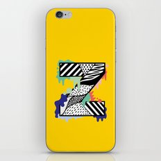 Z for …. iPhone & iPod Skin