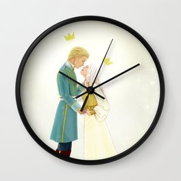 Nikolai and Alina Wall Clock