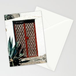 Door in Albaicin neighborhood in Granada, Spain Stationery Cards