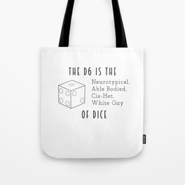The D6 Tote Bag