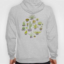 Cactus Jack Green Pattern Hoody