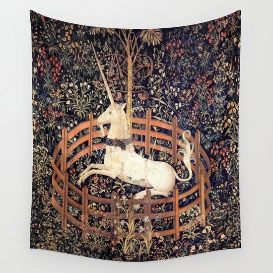 The Unicorn in Captivity by historystuff