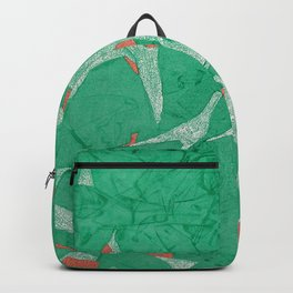 Birds - Abstract Watercolor Painting Backpack