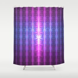 Happy Birthday From The Infinite One Shower Curtain