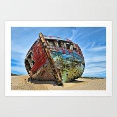Wreck Art Print