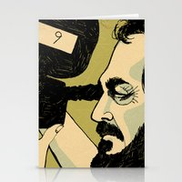 stanley kubrick Stationery Cards featuring kubrick by Le Butthead