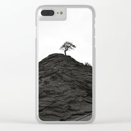 Forever Alive Clear iPhone Case