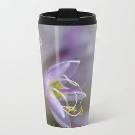 Delicate Purple Flowers Travel Mug