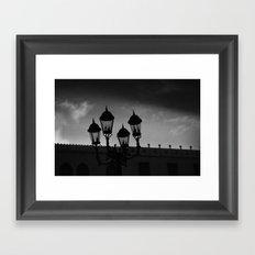 Faroles Framed Art Print