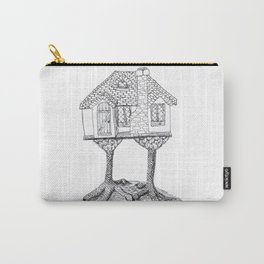 Baba Yaga's House Carry-All Pouch