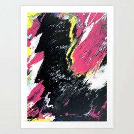 River of Black Art Print
