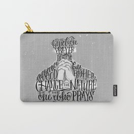 The Function Of Prayer Carry-All Pouch