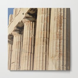 Parthenon, Athens, Acropolis of Athens, ancient Greece photography, Athens Agora, doric columns Metal Print