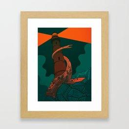 The Fog Horn Framed Art Print