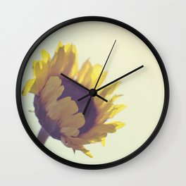Sunny Sunflower Wall Clock