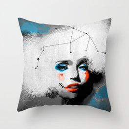 Zero City Throw Pillow