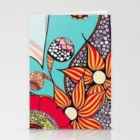 hamsa Stationery Cards featuring Hamsa by Sophia Skipka