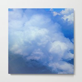 Clouds In A Canadian Sky Metal Print