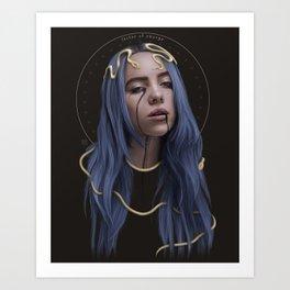 LUCTOR ET EMERGO Art Print