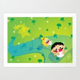 Music for Babies Art Print