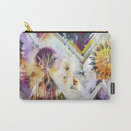 """Burn Bright"" Original Painting by Flora Bowley Carry-All Pouch"