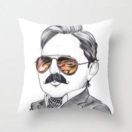John Hodgman  The Judge Throw Pillow