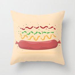 Hat Dag! Throw Pillow