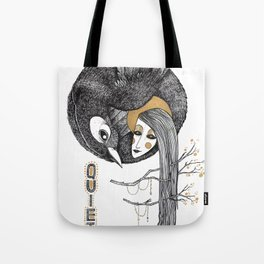 BIRD WOMEN 4 Tote Bag