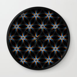 Pattern Kira Wall Clock