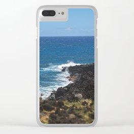 Hawaiian Archipelago Clear iPhone Case