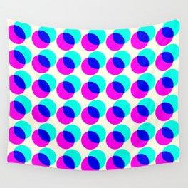 dots pop pattern Wall Tapestry