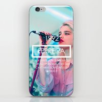 sky ferreira iPhone & iPod Skins featuring Sky Ferreira by ScarTissue