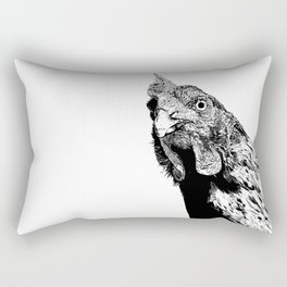 Rooster Rectangular Pillow