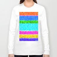 miami Long Sleeve T-shirts featuring Miami by Saundra Myles