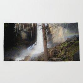 Mist Trail Beach Towel
