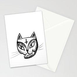 Satan Kitty Stationery Cards