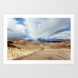 Mountains of Death Valley Art Print
