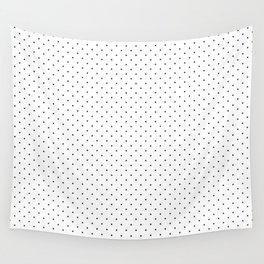 Minimal Black Polka Dots Wall Tapestry