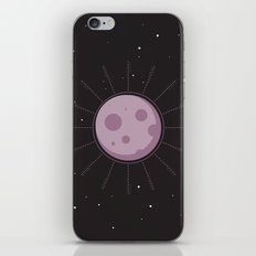 Purple Moon iPhone Skin