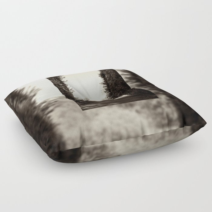 Couple Sitting On Bench Floor Pillow By Arletta Society6