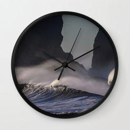 Pacific Coastline - LaPush, Washington Wall Clock
