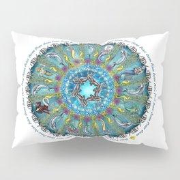 Ocean Peace Mandala Pillow Sham
