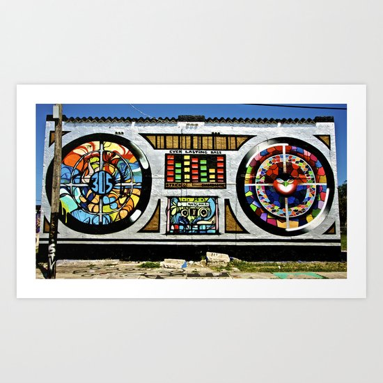 Ever Lasting Bass Art Print